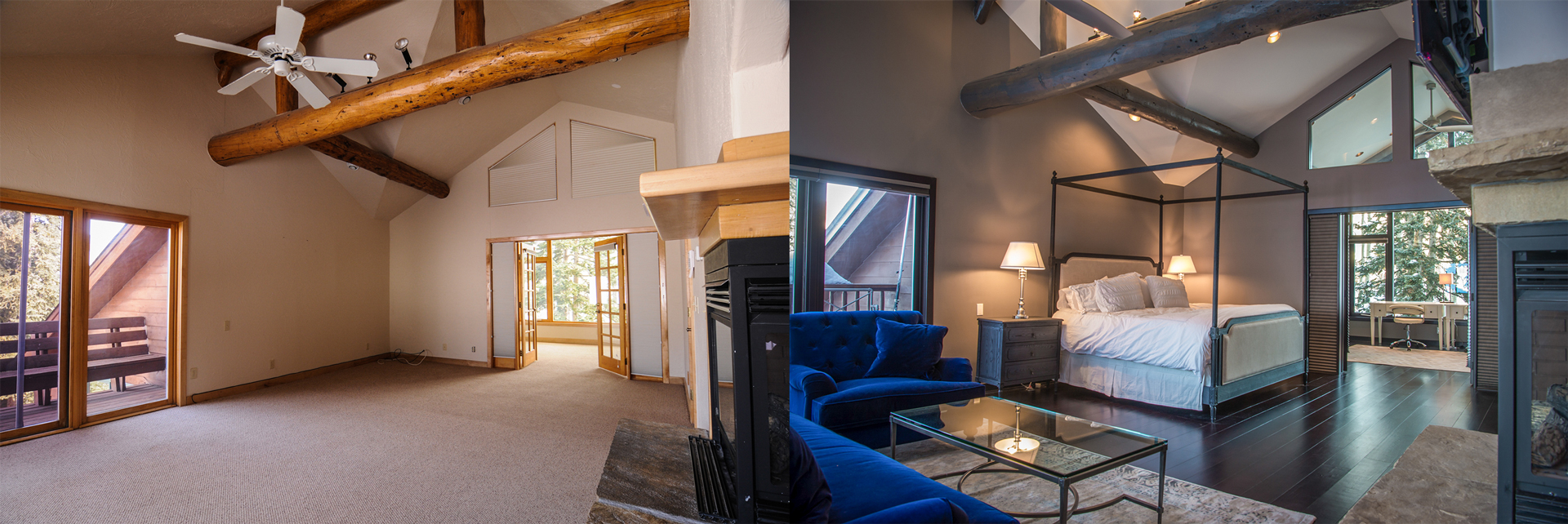 Crested Butte Home Remodel Historic Renovation - Somrak - Before and After Photos