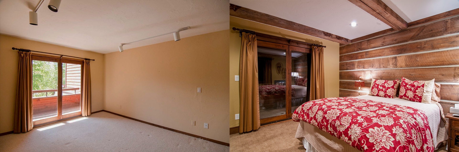 Somrak Concept and Design - Crested Butte Historic Renovation - Before and After Photos