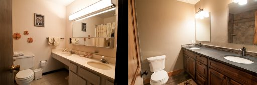 San Moritz Condo Remodel Crested Butte Renovation - Somrak - Before and After Photos