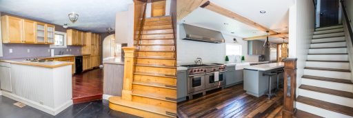 Somrak Concept and Design - Crested Butte Historic Remodel on Sopris - Before and After Photos