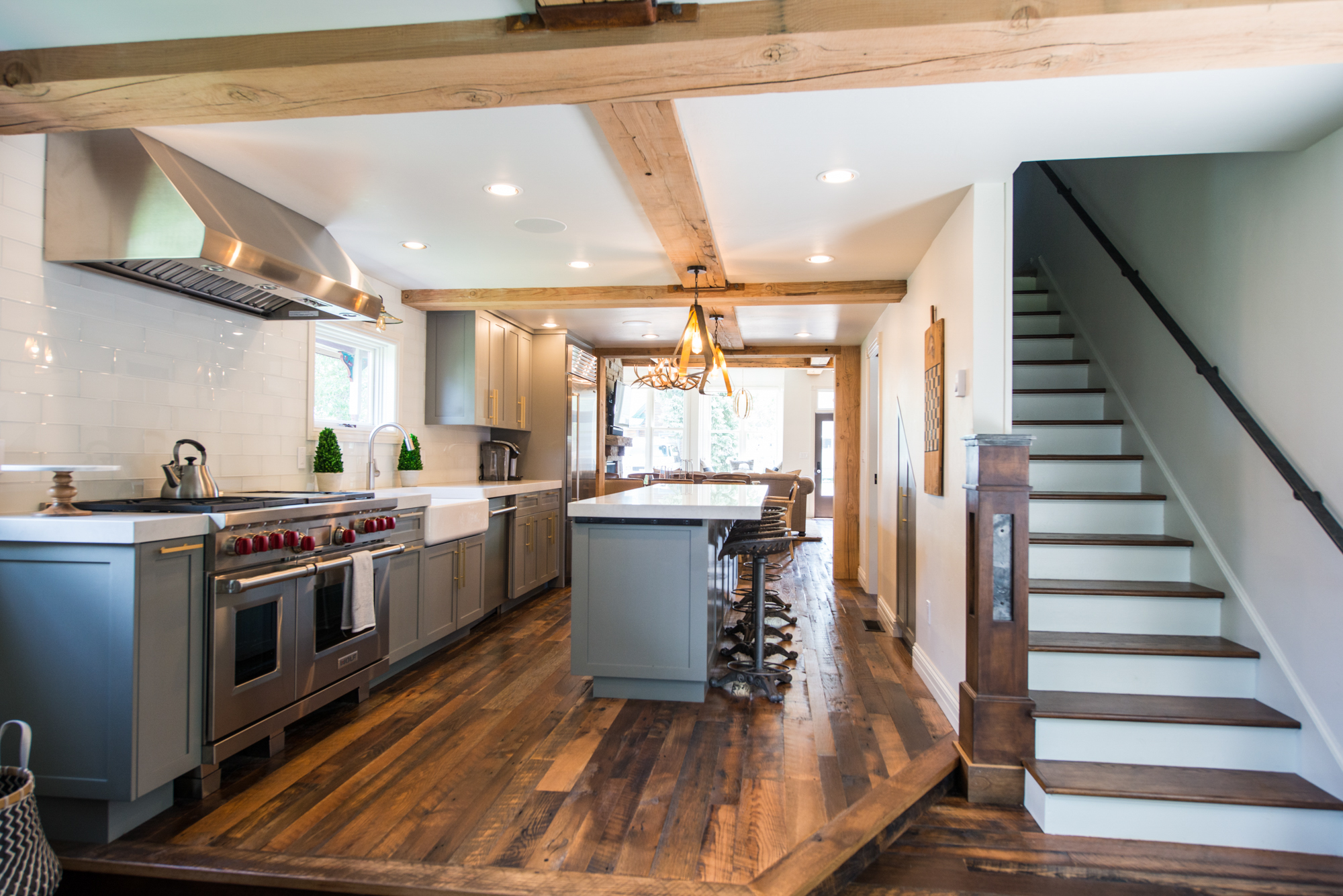 Somrak Concept and Design - Crested Butte Historic Remodel on Sopris