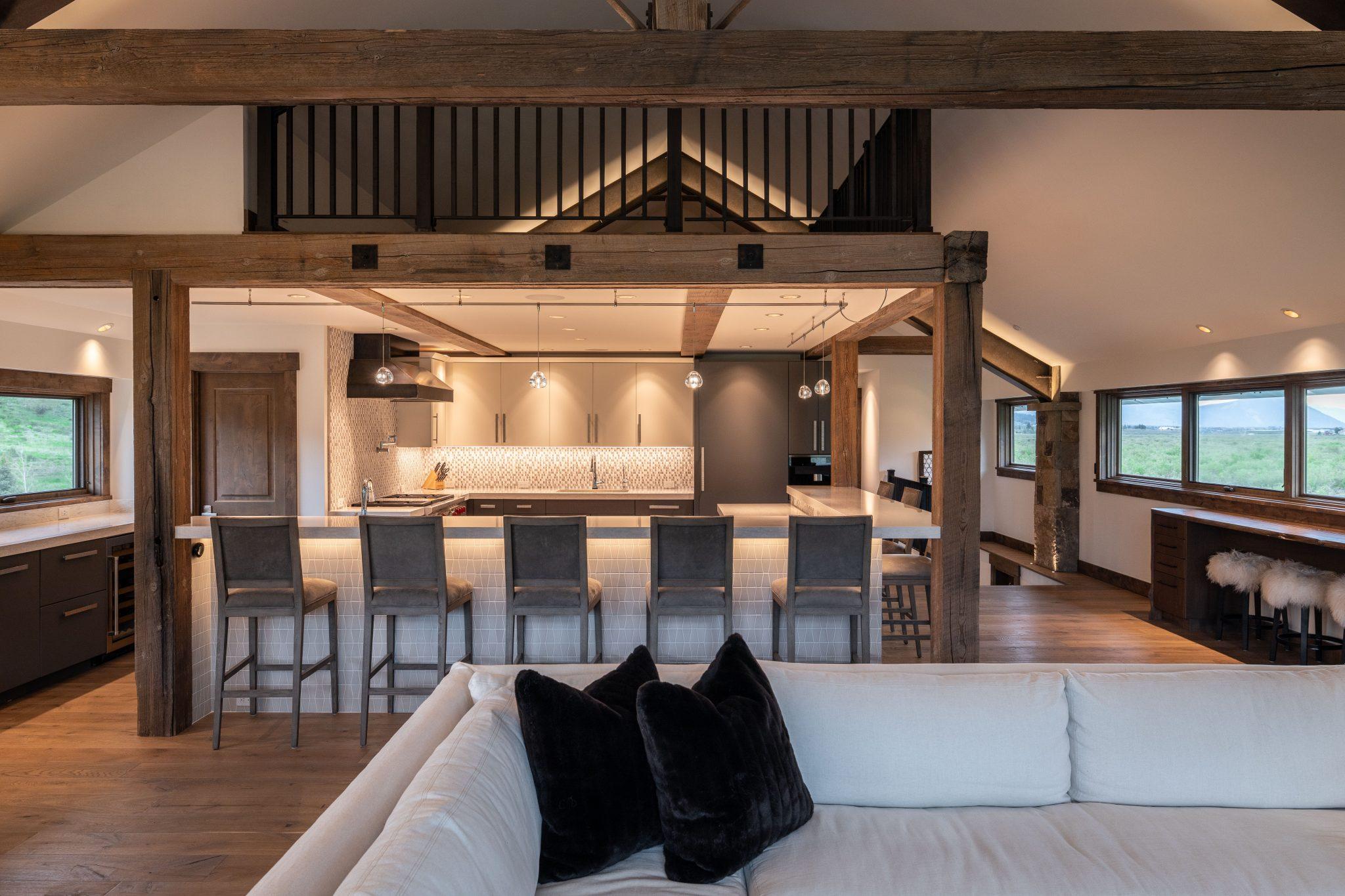 Somrak Concept and Structure – Crested Butte Home Builder - Slate River Remodel